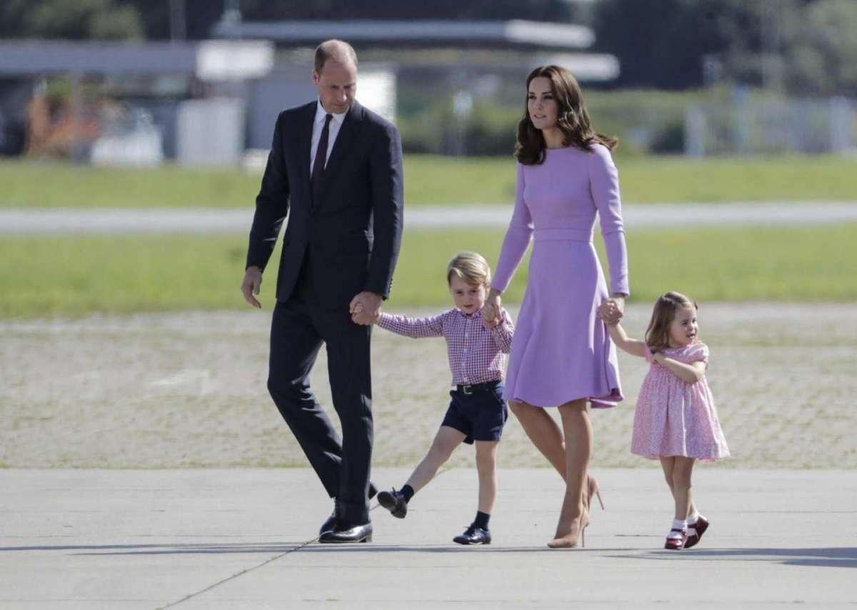 Principe George e Charlotte, il padre William racconta le manie dei suoi figli