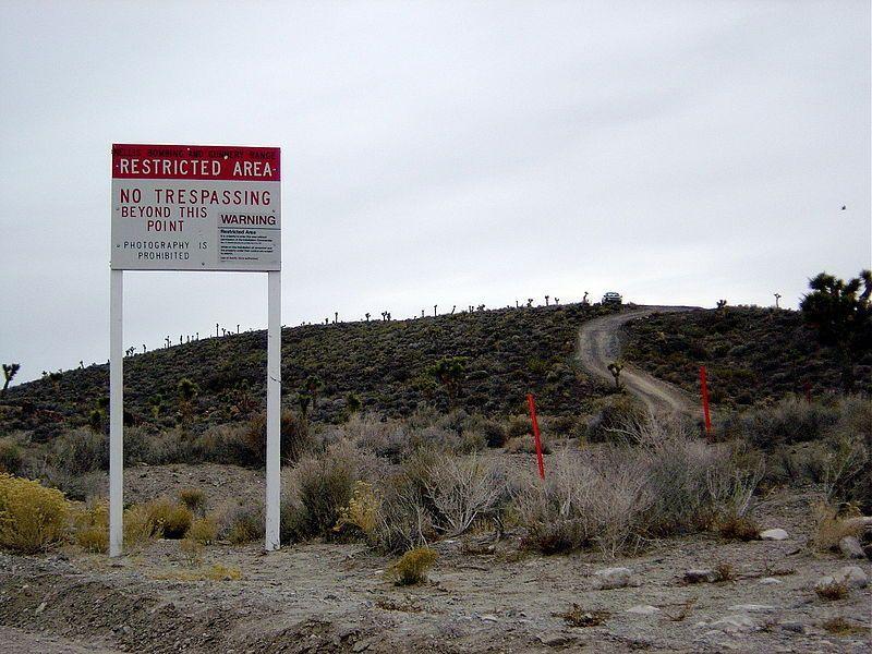luoghi più misteriosi della terra area 51