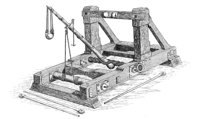 macchine dell'antichità onagro