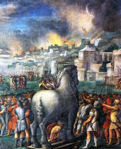 macchine dell'antichità più sorprendenti cavallo di troia