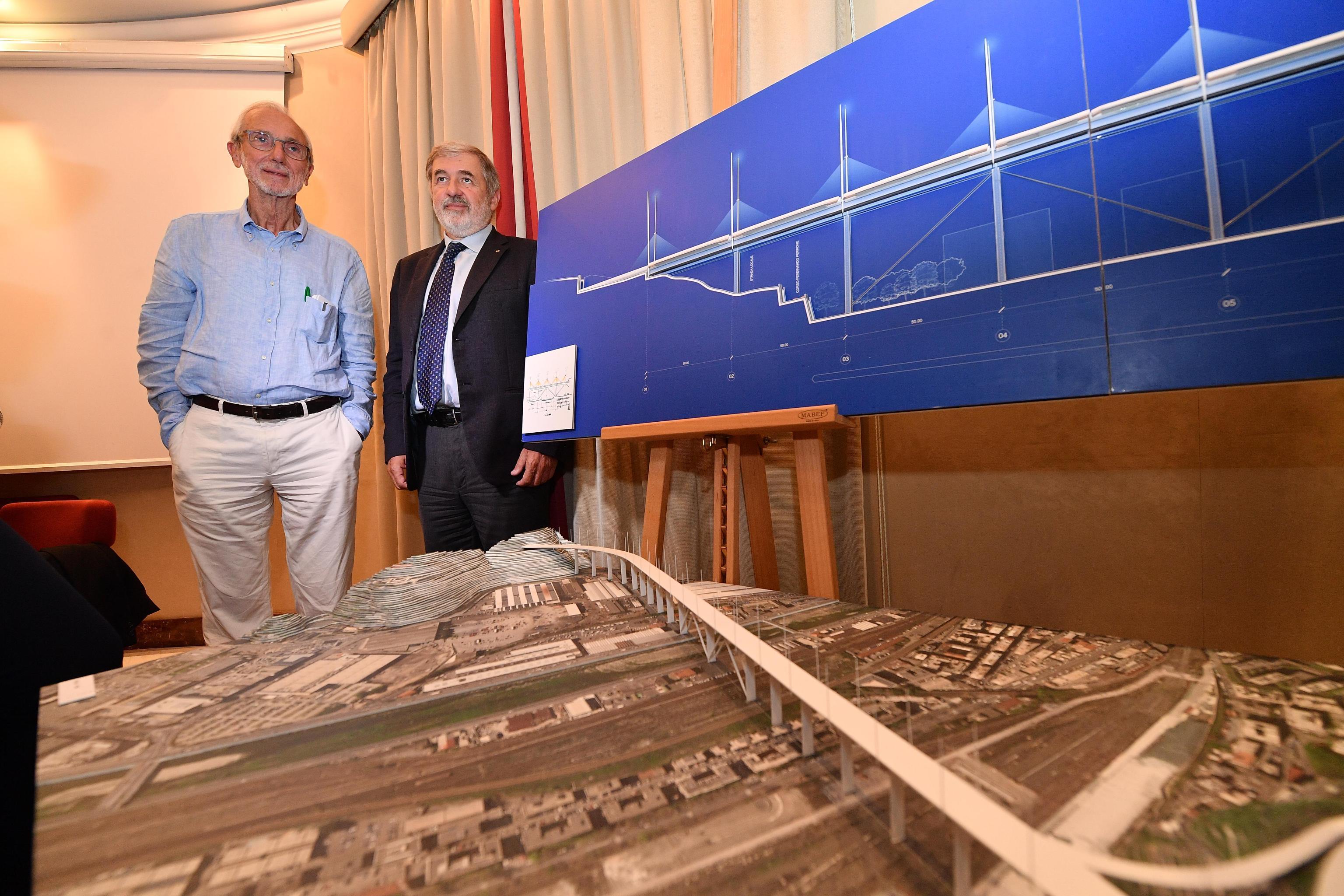 Crollo ponte: Piano, durerà mille anni e sarà d'acciaio