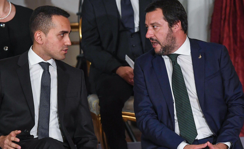 Salvini Di Maio Governo Conte