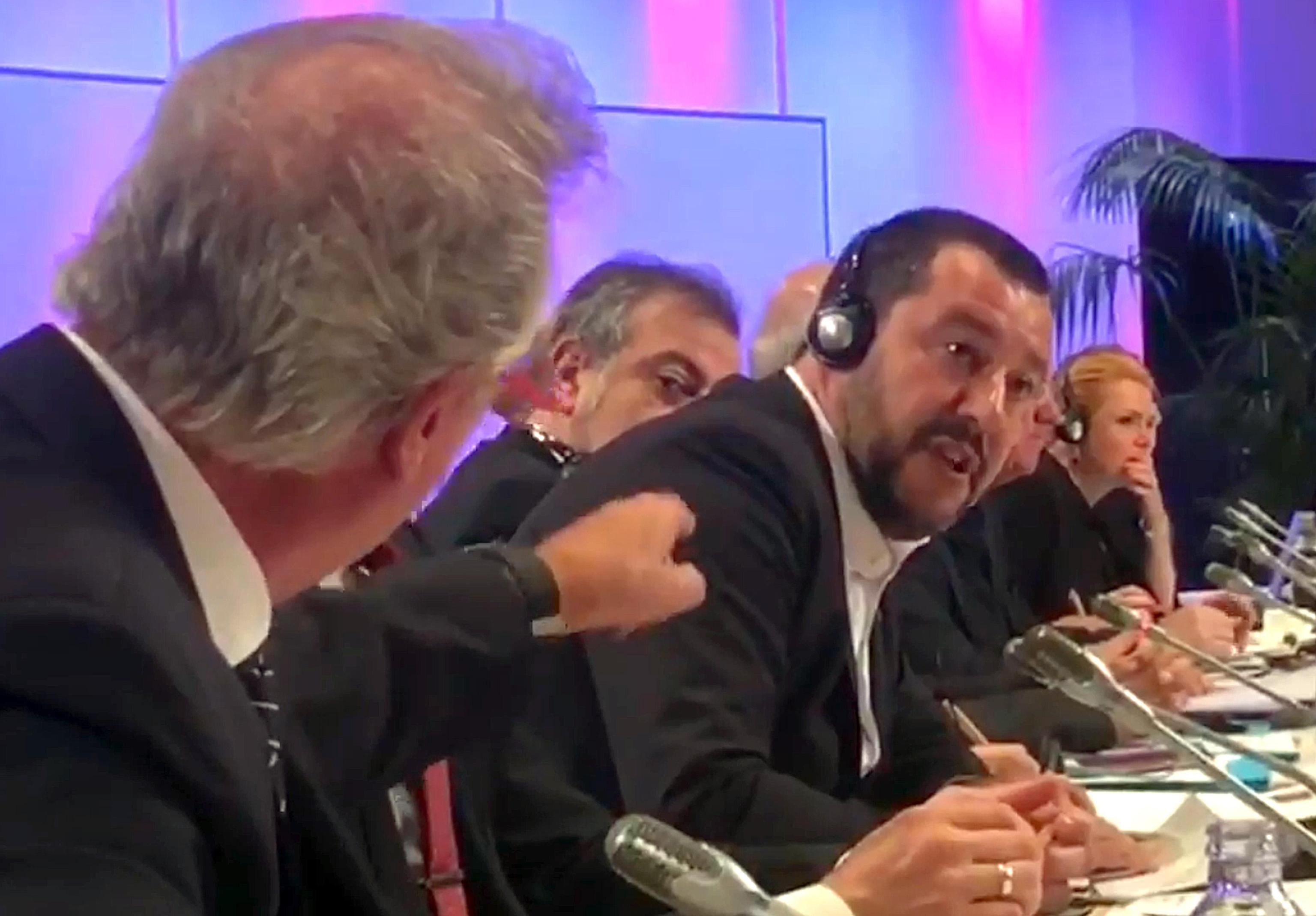 Migranti: Salvini litiga con il ministro del Lussemburgo