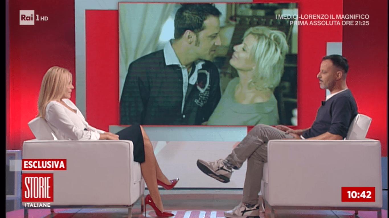 Chicco Nalli si commuove a Storie Italiane: 'Tina Cipollari? Sono ancora geloso'
