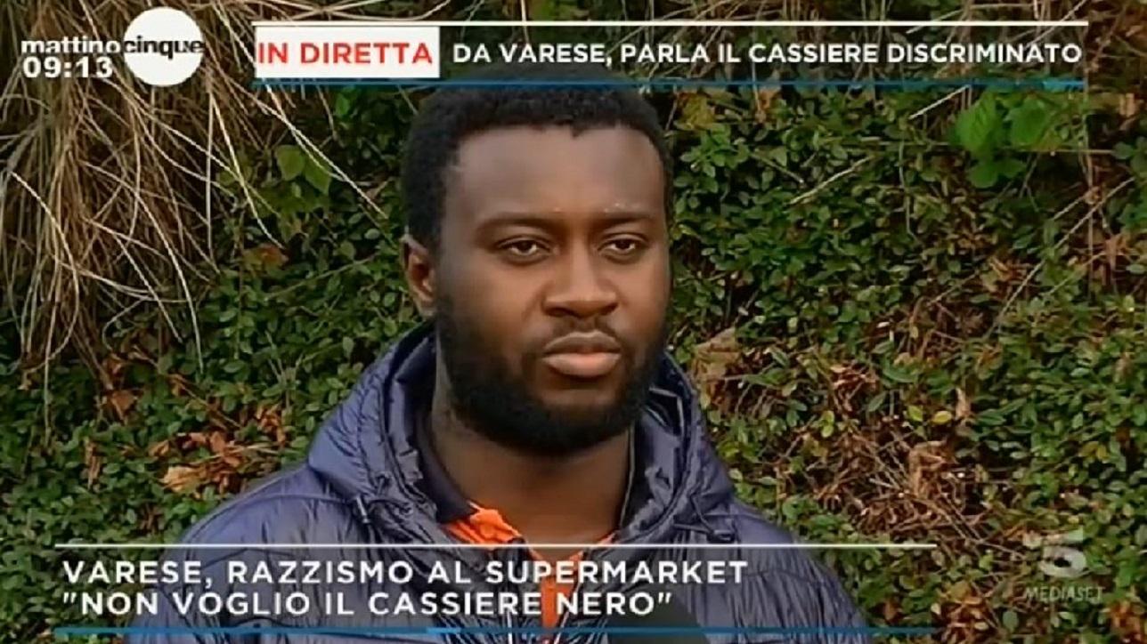 'Non voglio essere servita da un negro', la storia di Emmanuel Asiedu che fa il cassiere a Varese