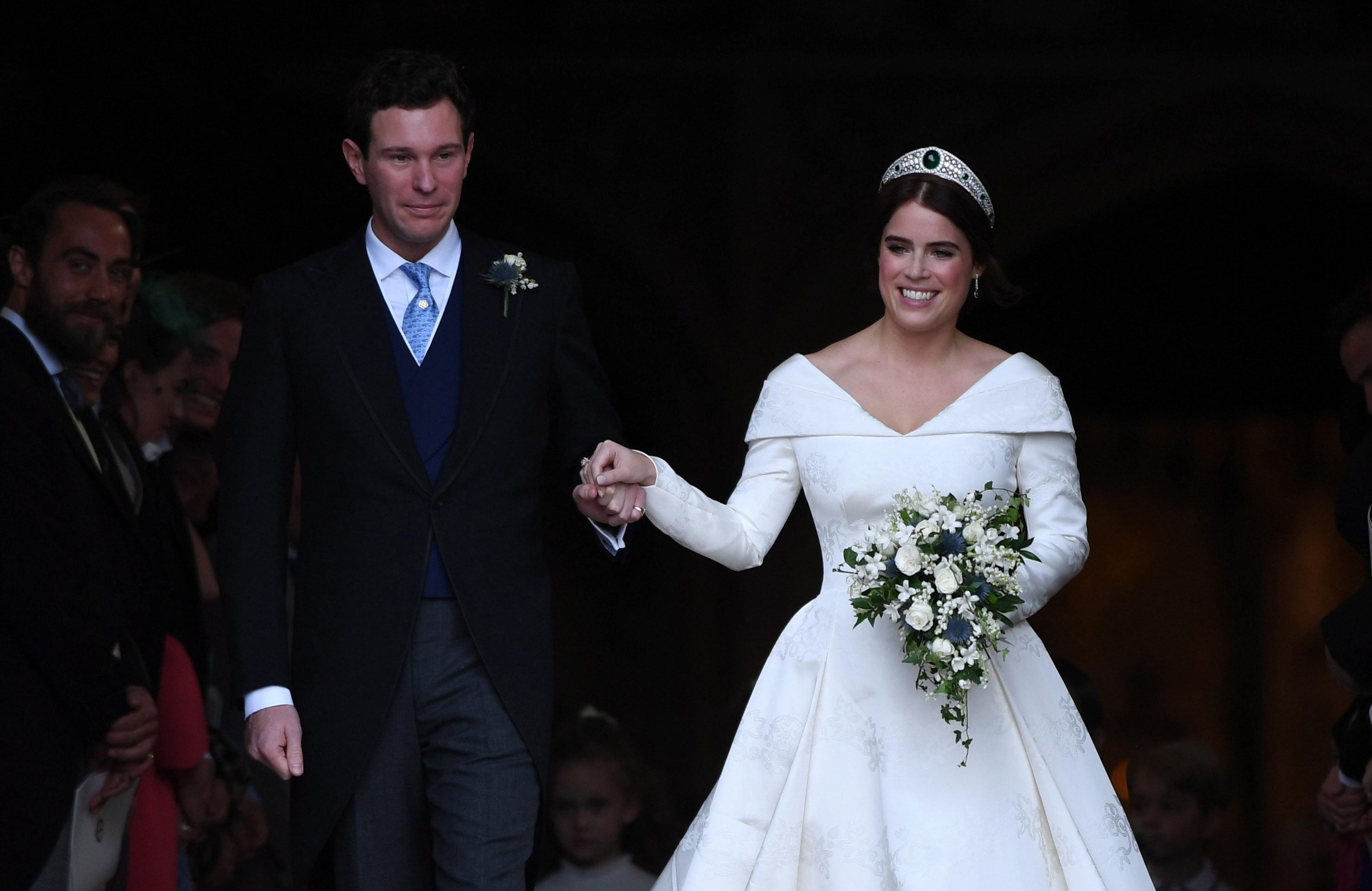Eugenie di York sposa Jack Brooksbank: il matrimonio al Castello di Windsor