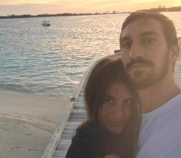 Francesca Fioretti dopo la morte di Davide Astori: 'Vittoria è più forte del mio dolore'