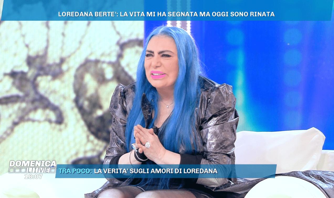 Loredana Bertè: 'Mi hanno portato all'ospedale psichiatrico con i matti ci stavo bene'