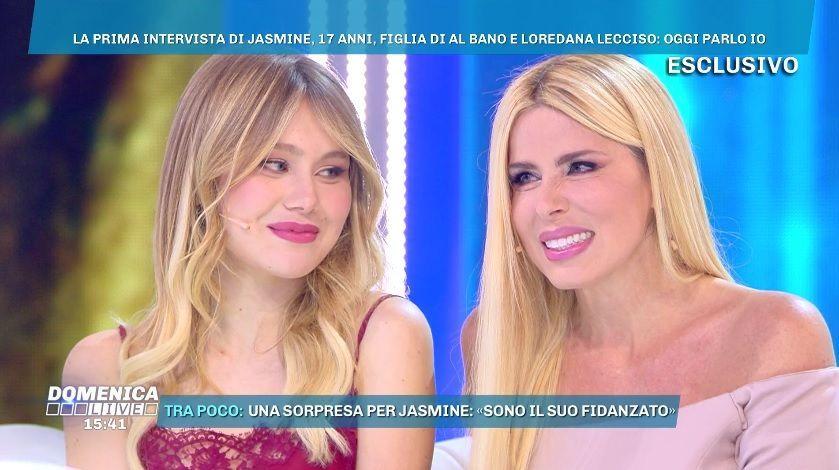 Domenica Live, Loredana Lecciso con la figlia Jasmine: 'Ho rischiato di perderla'
