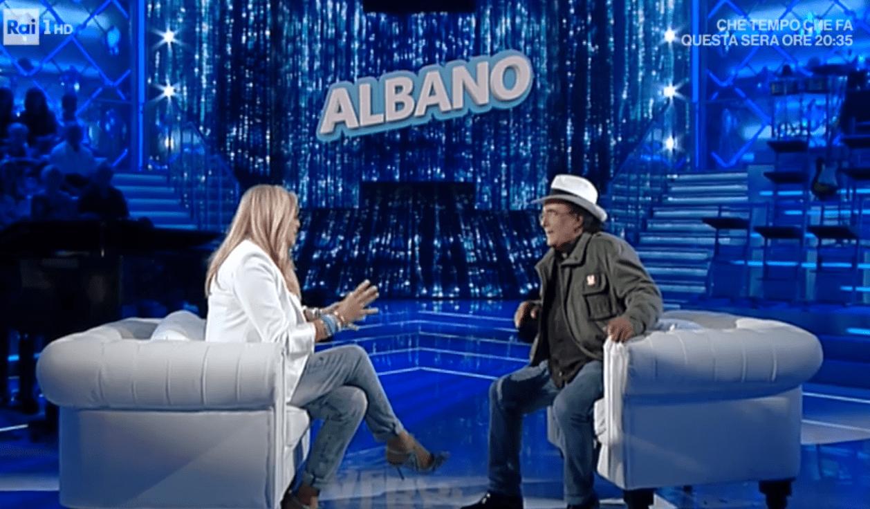 Mara Venier intervista Al Bano: 'Mi piacevi ma tu non mi filavi'