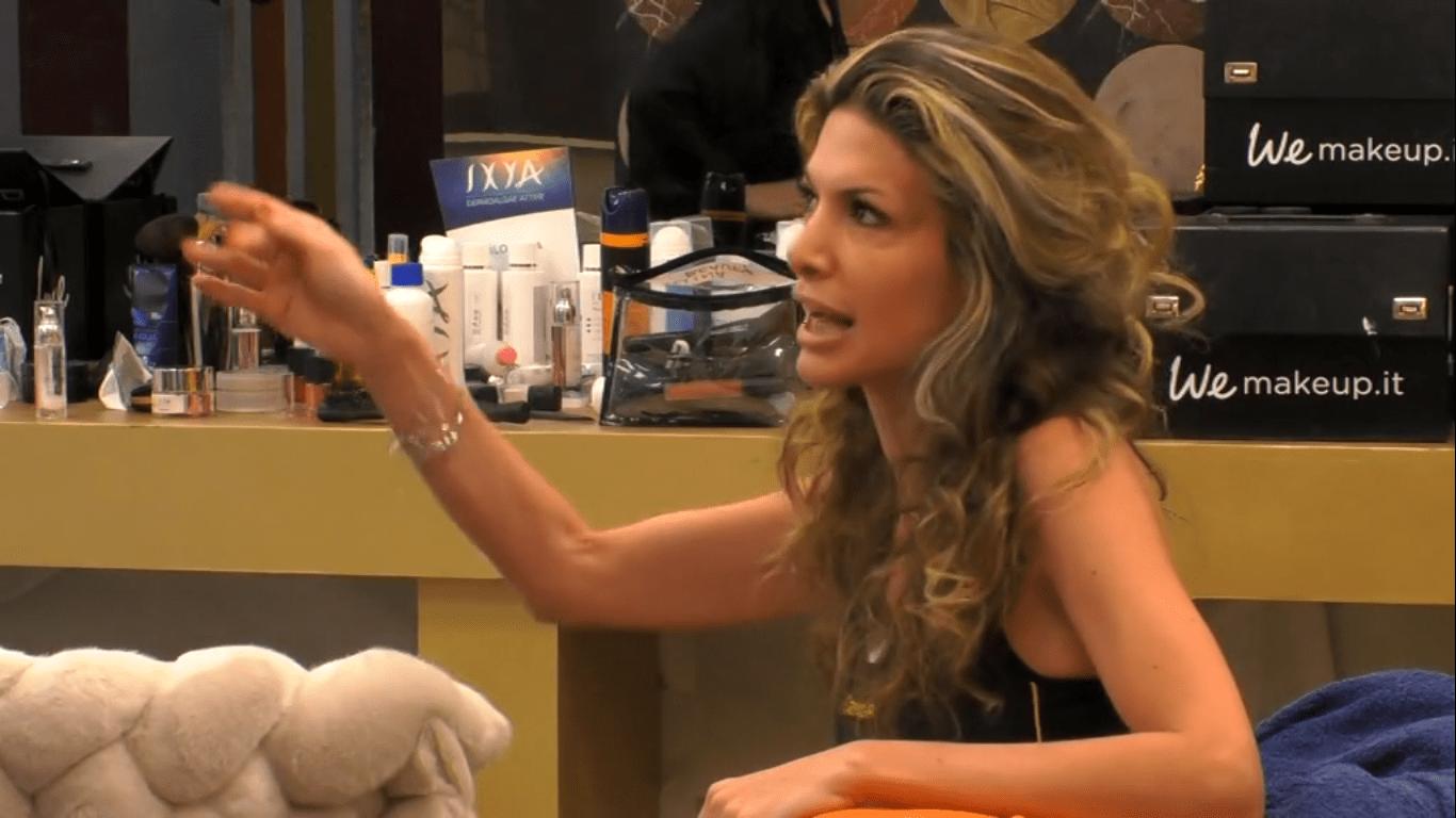 Gf Vip 3, Maria Monsé la frase sul figlio di Lory Del Santo indigna il web