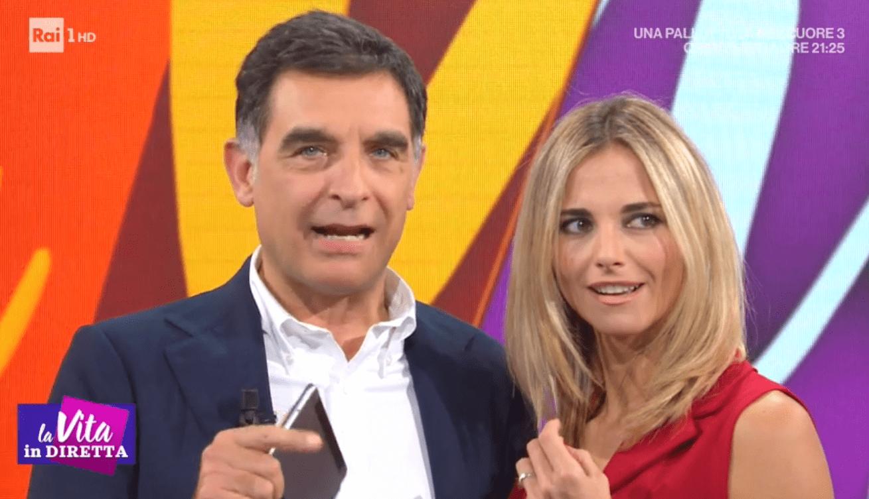 Tiberio Timperi e Francesca Fialdini pace in diretta: 'A qualcuno dà fastidio che il programma va bene'