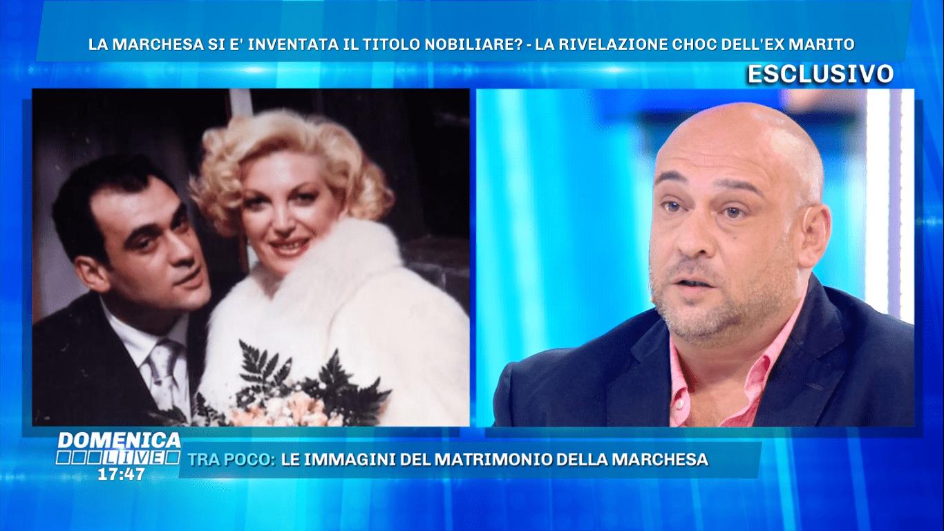 Marchesa D'Aragona, l'ex marito: 'Non siamo legalmente divorziati'
