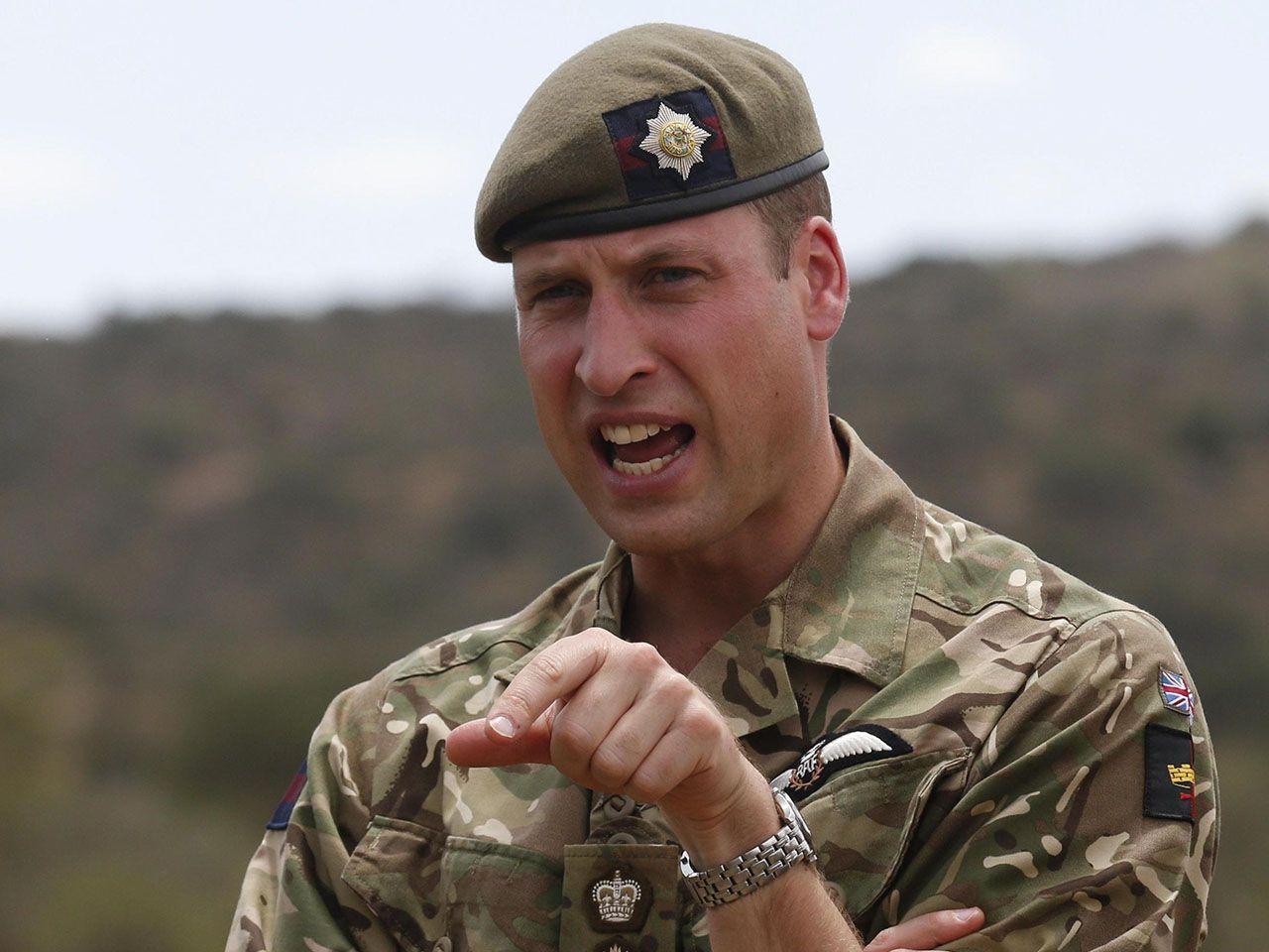 Il principe William: 'Nell'esercito ho sfiorato la depressione'
