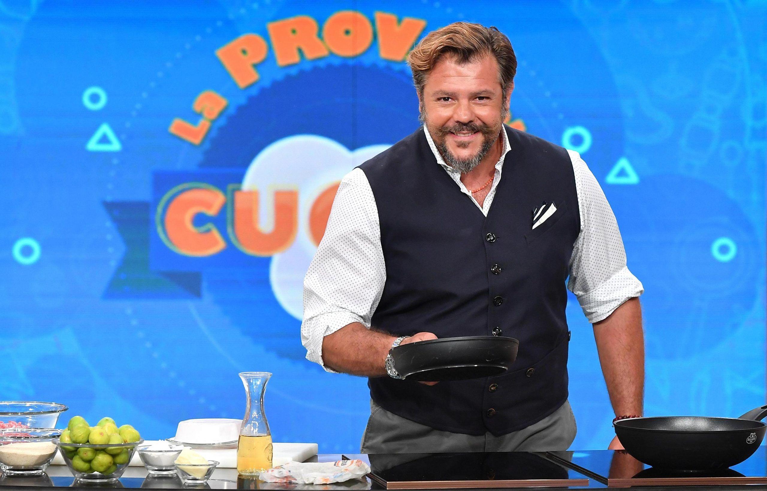 Andrea Lo Cicero fuori da La Prova del cuoco? Il messaggio sui social dell'ex rugbista