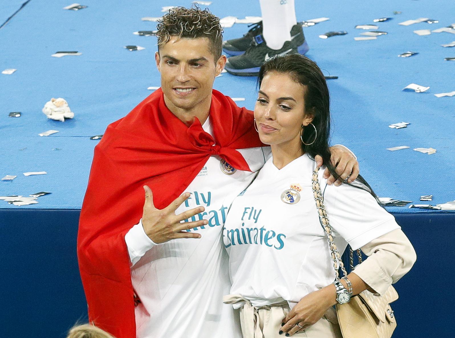 Cristiano Ronaldo sposa Georgina Rodriguez