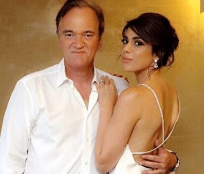 Quentin Tarantino, matrimonio con la cantante Daniella Pick