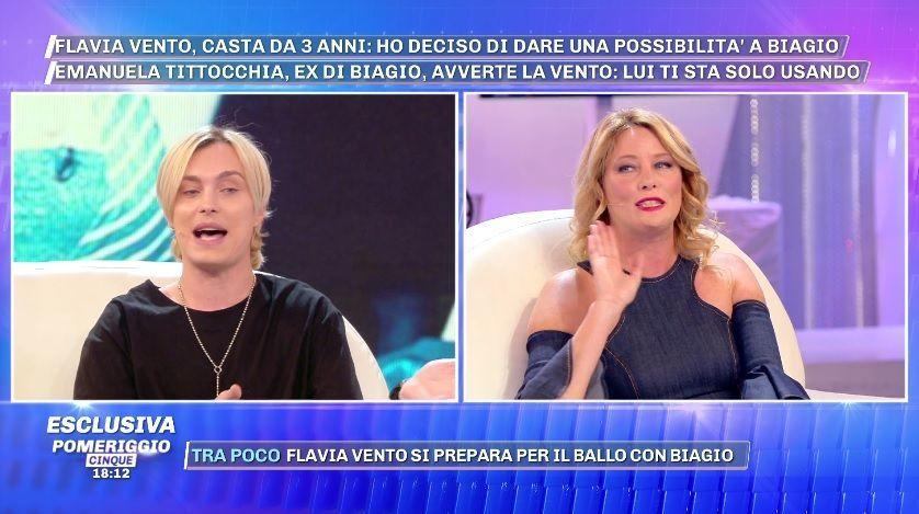 Flavia Vento, l'attacco a Pomeriggio 5: 'Casta tu? In 20 anni ti sei fatta tutto il palinsesto!'