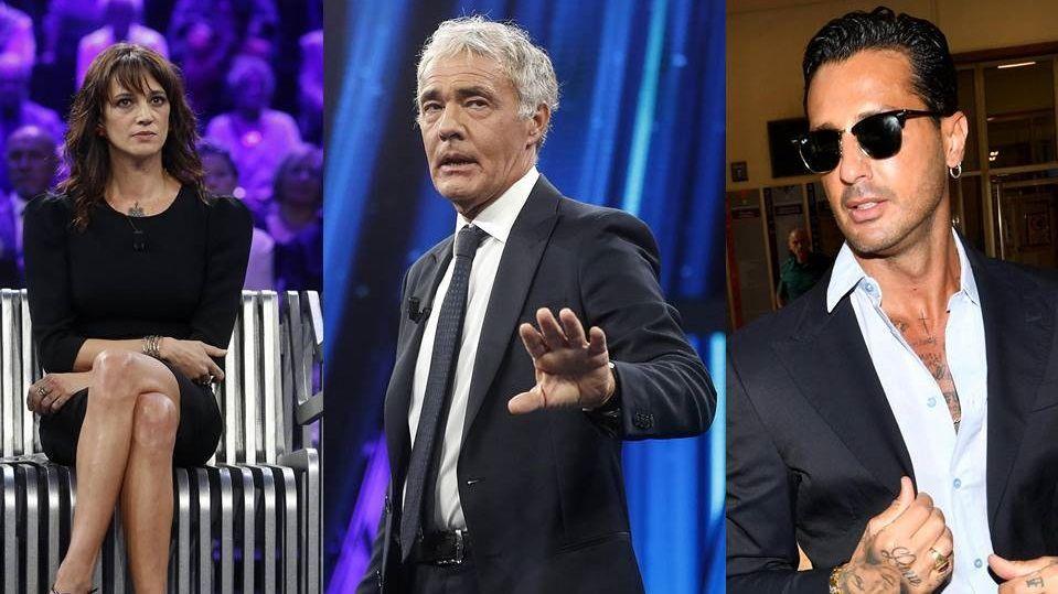 Massimo Giletti: 'Fabrizio Corona e Asia Argento? O si salvano o esplodono'