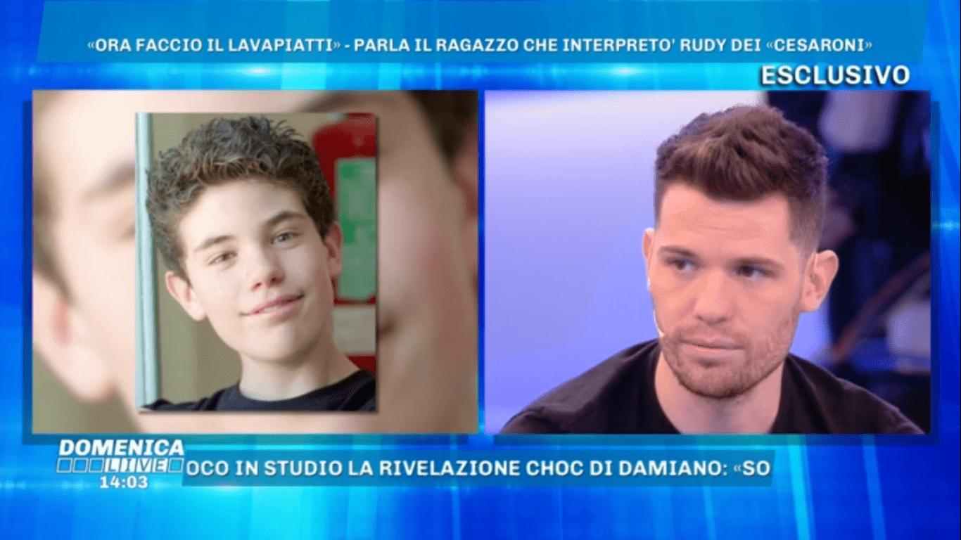 Niccolò Centioni, il Rudy dei Cesaroni: 'Faccio il lavapiatti a Londra, la tv mi ha dimenticato'