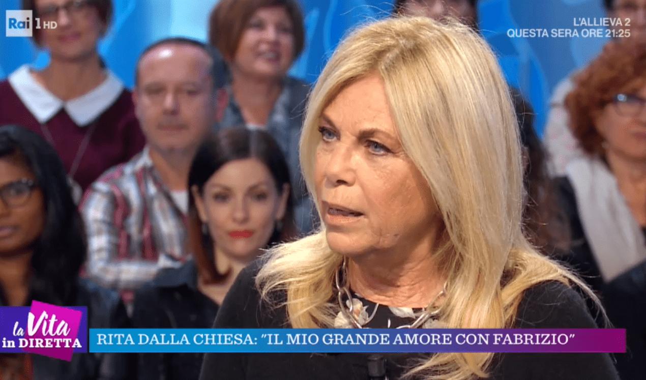 Rita Dalla Chiesa su Fabrizio Frizzi: 'Mi capita di cercarlo e poi mi rendo conto che non è possibile'