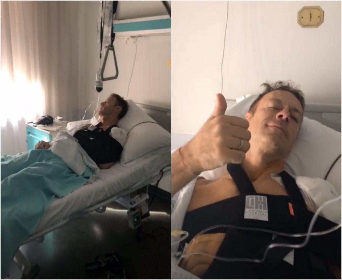 Rocco Siffredi ricoverato in ospedale, l'attore è stato operato