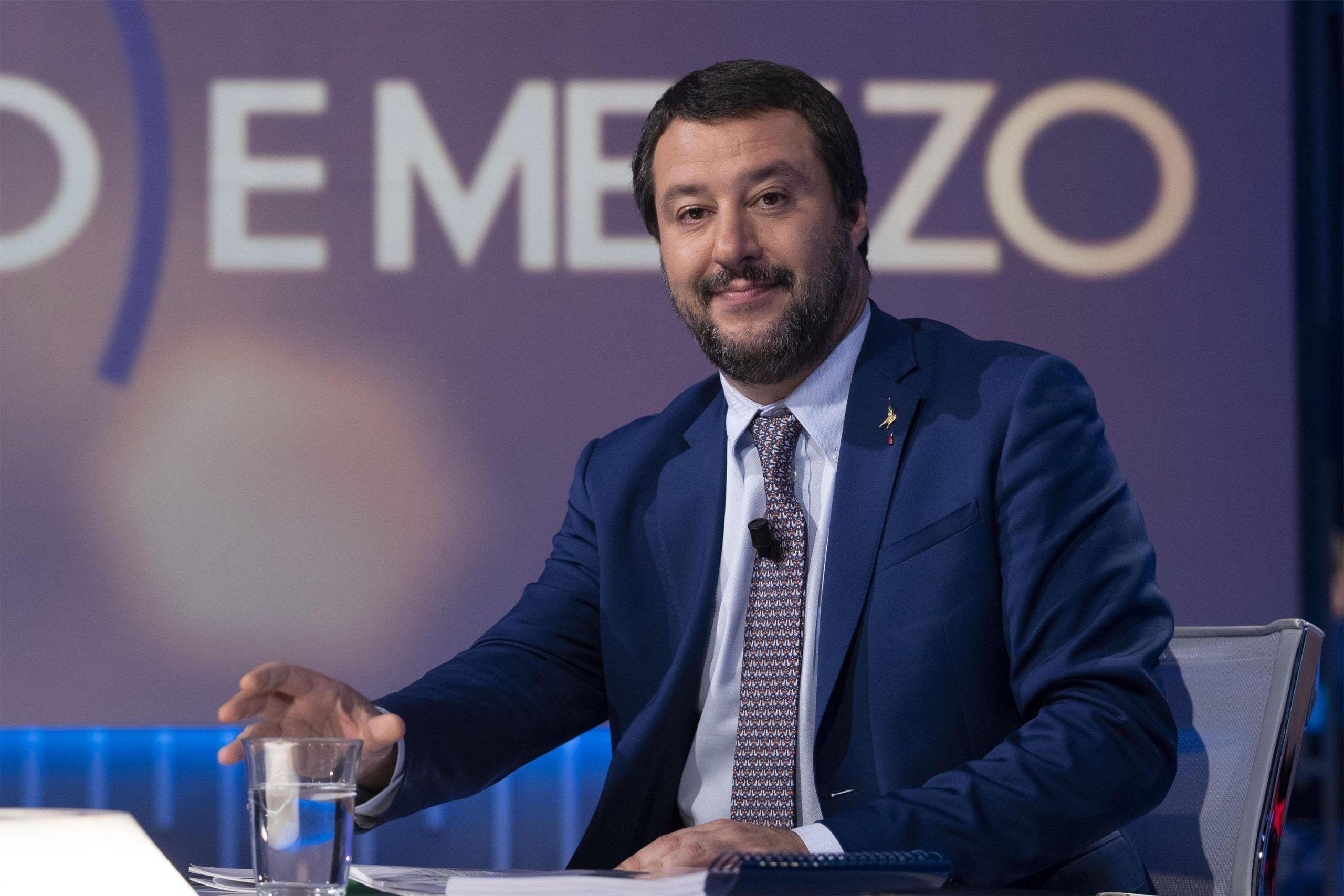 Salvini da Gruber parla di Elisa Isoardi: 'Ho amato, non mi vergogno'