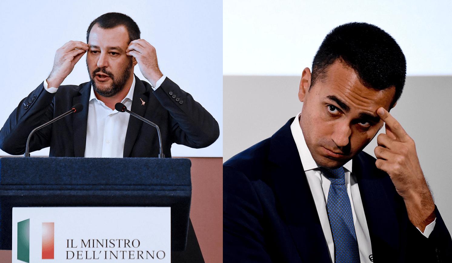 'Gli inceneritori non c'entrano una beneamata ceppa', scontro Di Maio-Salvini sui rifiuti in Campania