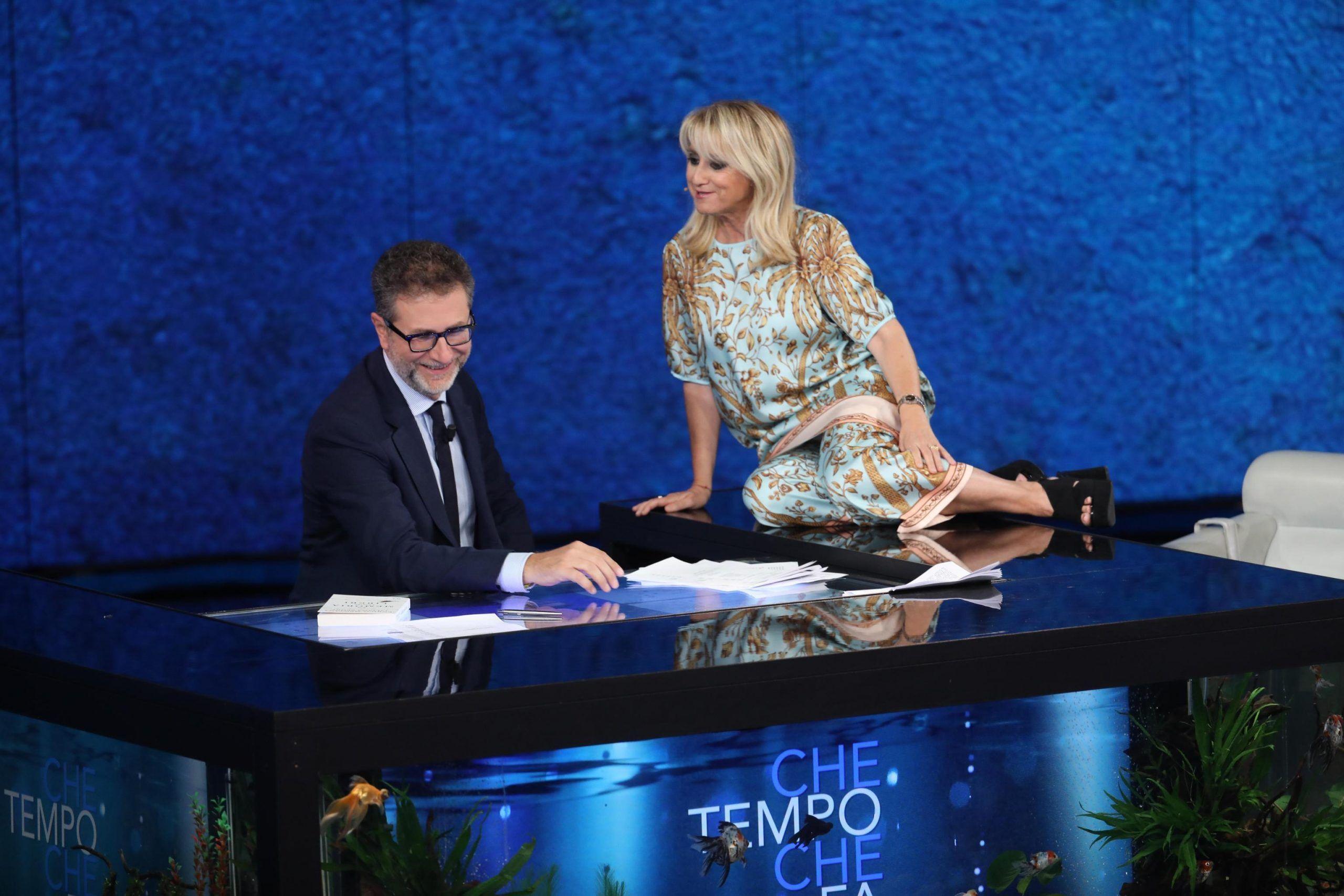 Fabio Fazio: 'Luciana Littizzetto? L'ho scoperta nel 1991 a un festival di cabaret'