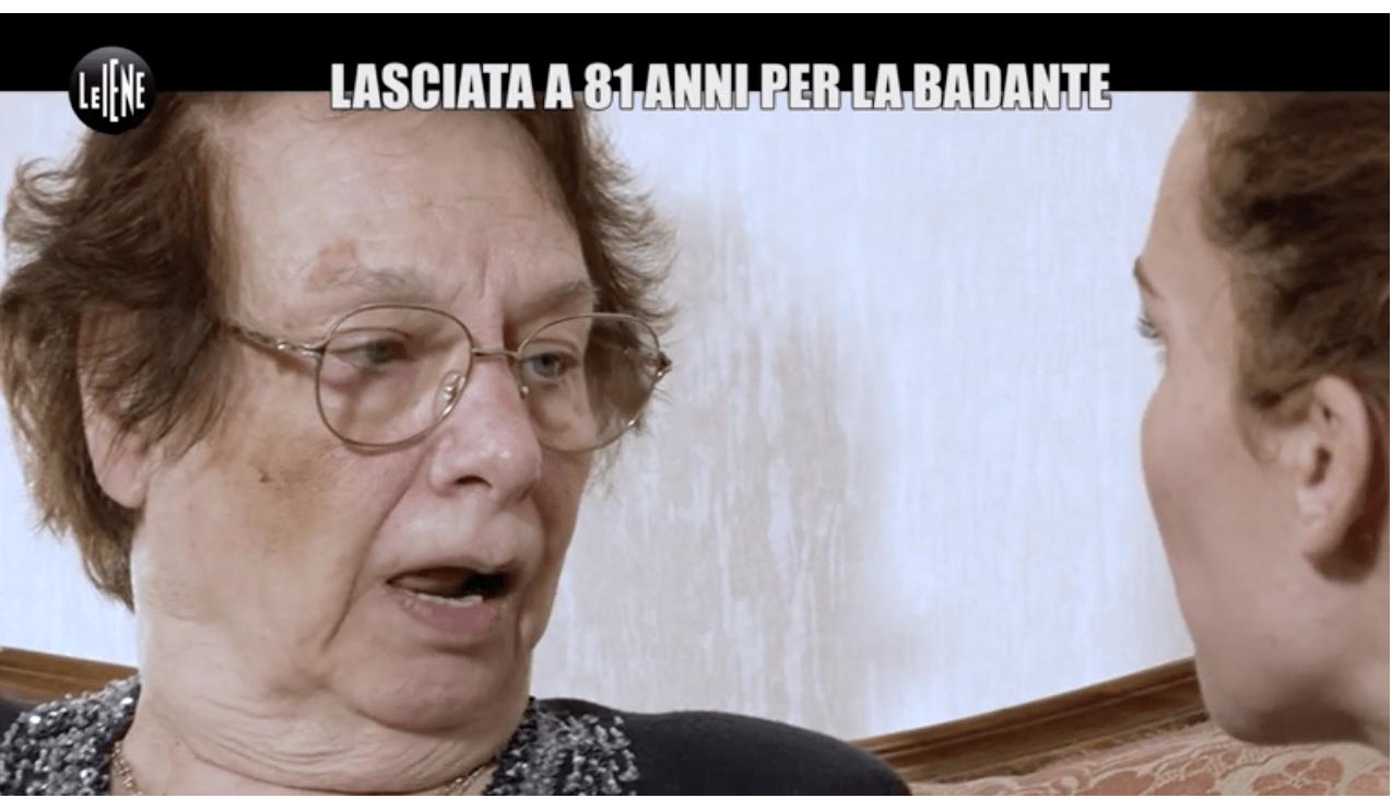 A 81 anni viene lasciata dal marito per la badante, la storia di Gianna a Le Iene