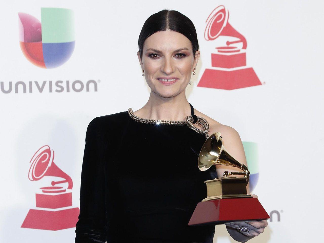 Laura Pausini vince il Latin Grammy per il miglior album pop