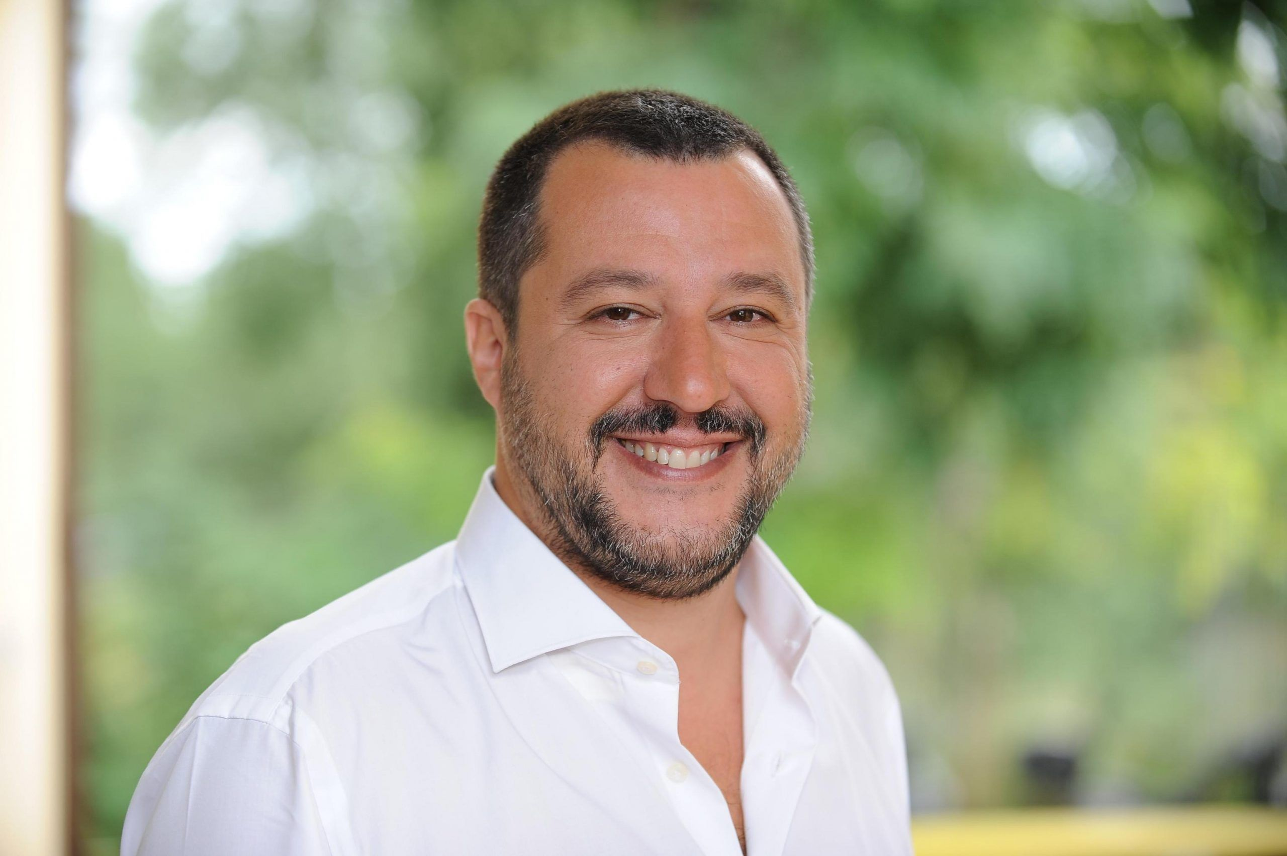Fischi e urla contro Salvini, donna fermata e portata in Questura