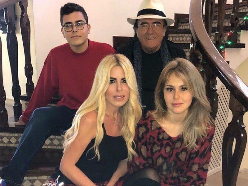 Al Bano a Natale con Loredana Lecciso