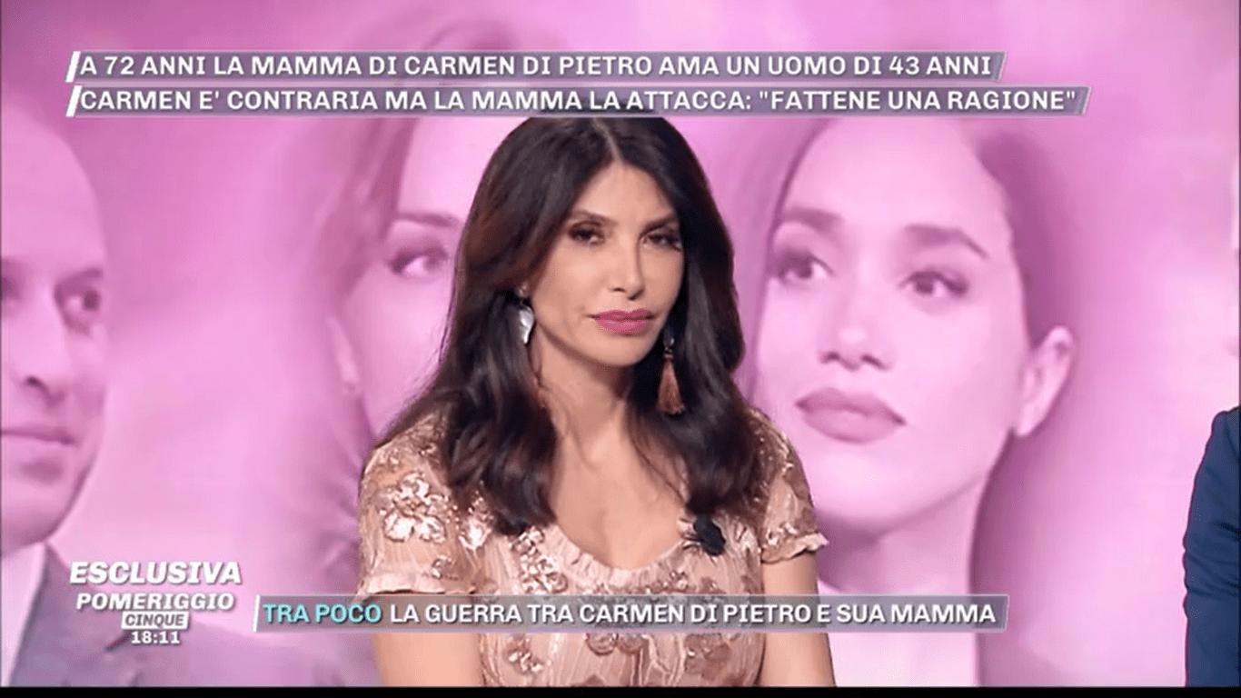 Carmen Di Pietro contro la mamma: 'Si è fidanzata con uno più giovane ed è sparita'