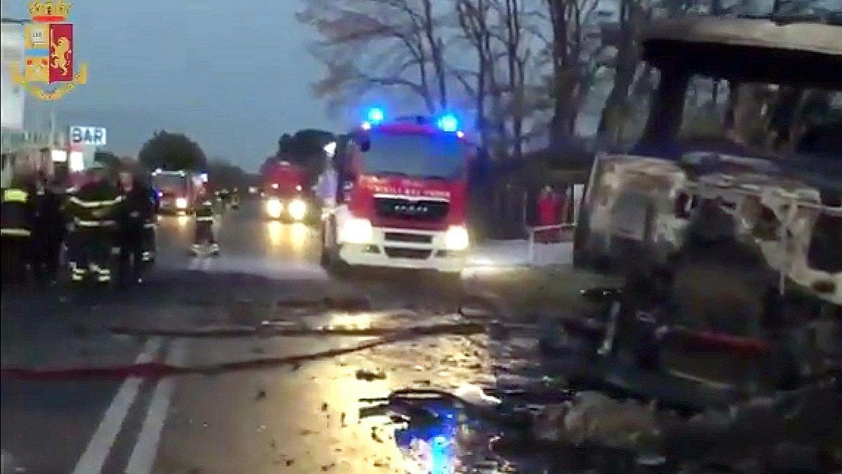 Esplosione a Rieti: scopre la morte del fratello accompagnando il questore sul distributore di benzina