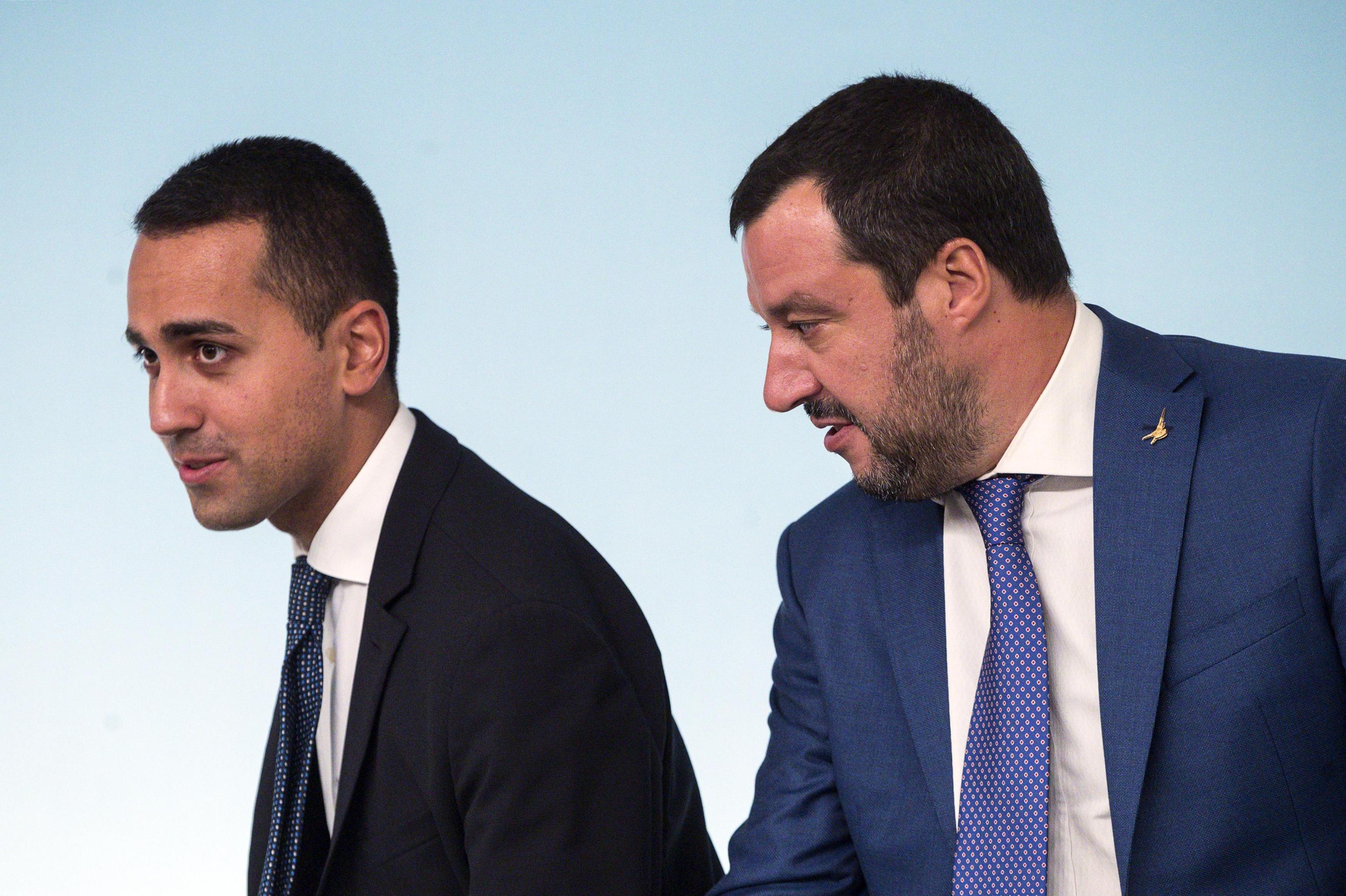 Salvini: 'Io e Di Maio siamo come Bud Spencer e Terence Hill'