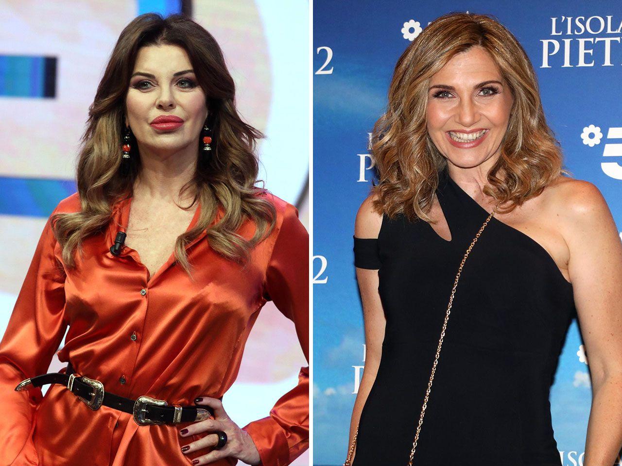Alba Parietti e Lorella Cuccarini