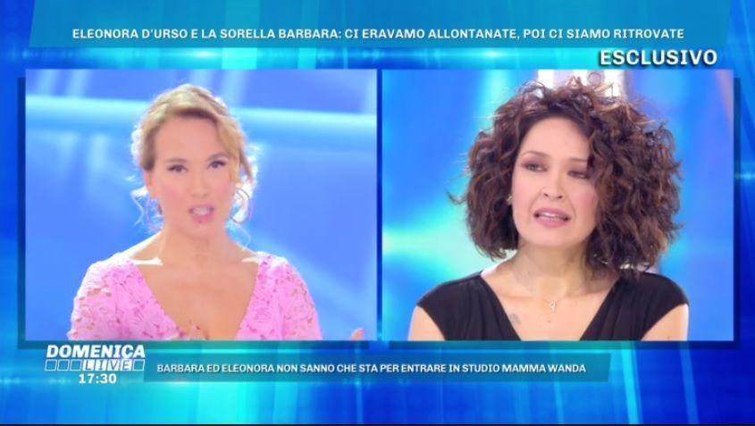 Barbara D'Urso intervista la sorella Eleonora: 'Per un periodo ci siamo allontanate'