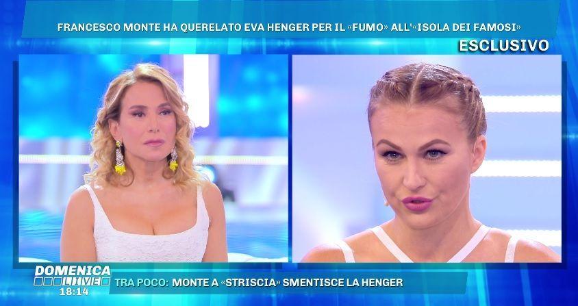 Eva Henger vs Francesco Monte: 'Mi ha querelato per il canna gate ora che è iniziata l'Isola 14'