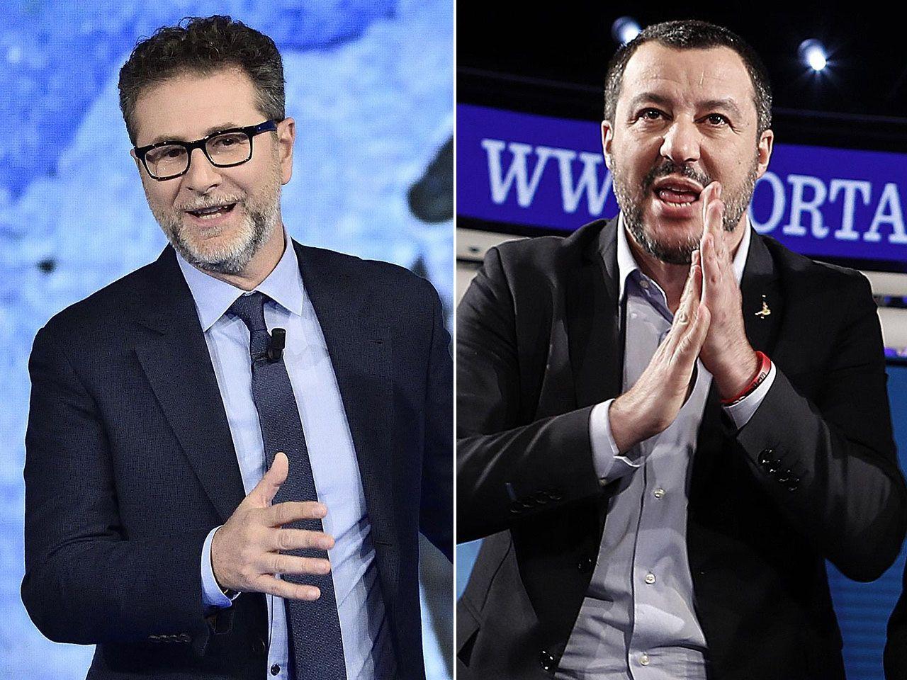 Salvini: 'Fabio Fazio guadagna in un mese quello che guadagno io in un anno'
