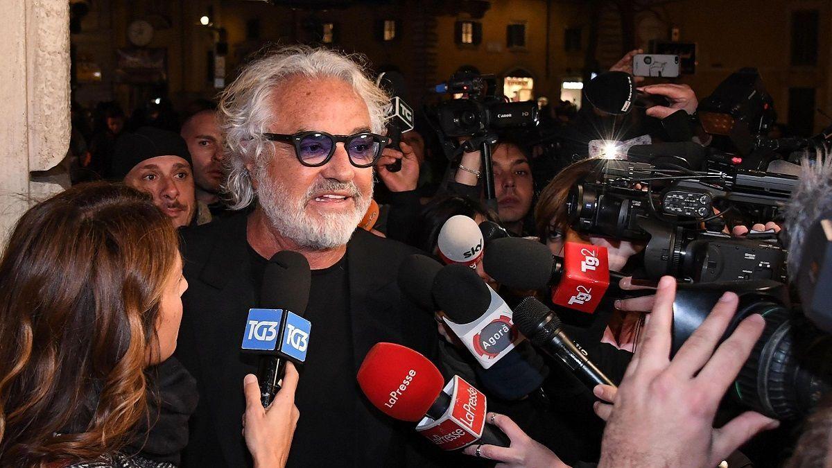 Flavio Briatore: 'I grillini fanno dichiarazioni da bar. Salvini? Almeno ha fatto una lunga gavetta'