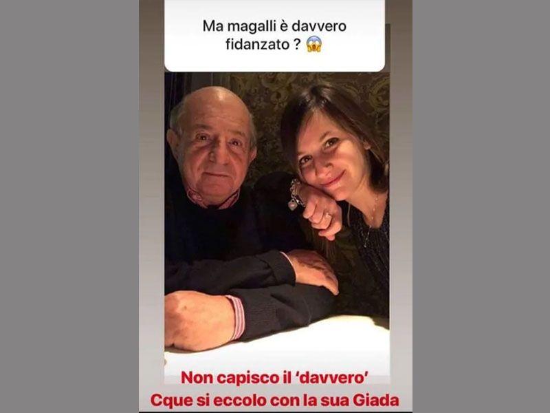 Giancarlo Magalli fidanzato Giada