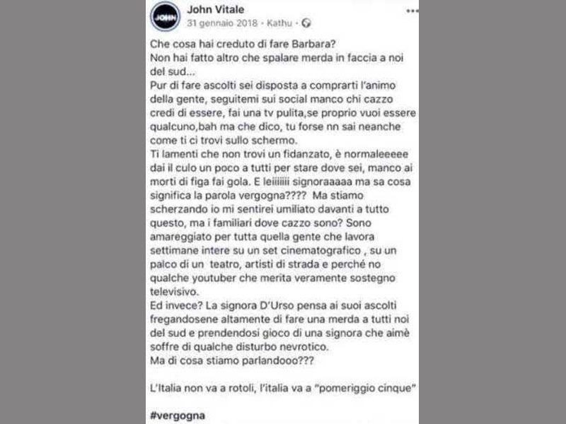 John Vitale Facebook