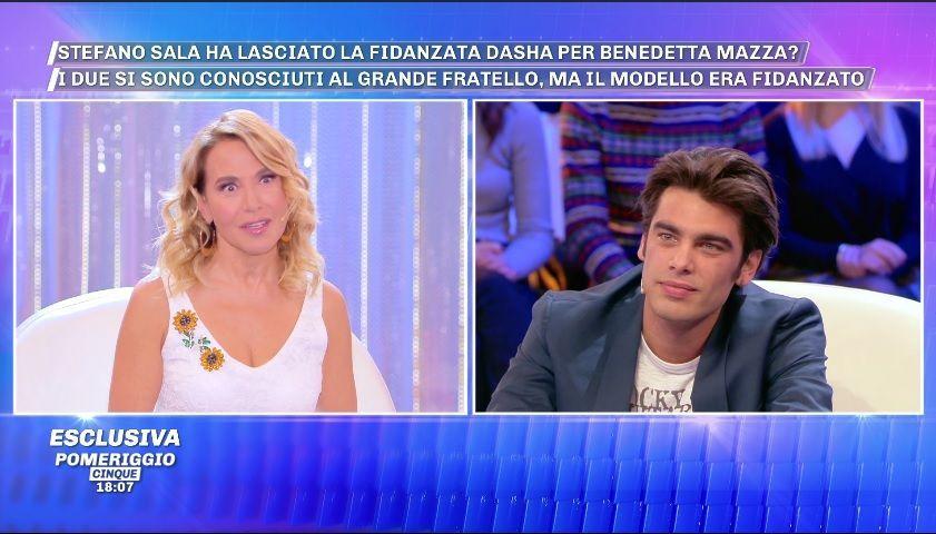 Pomeriggio Cinque, Stefano Sala: 'La storia con Dasha Kina è finita, sono single'