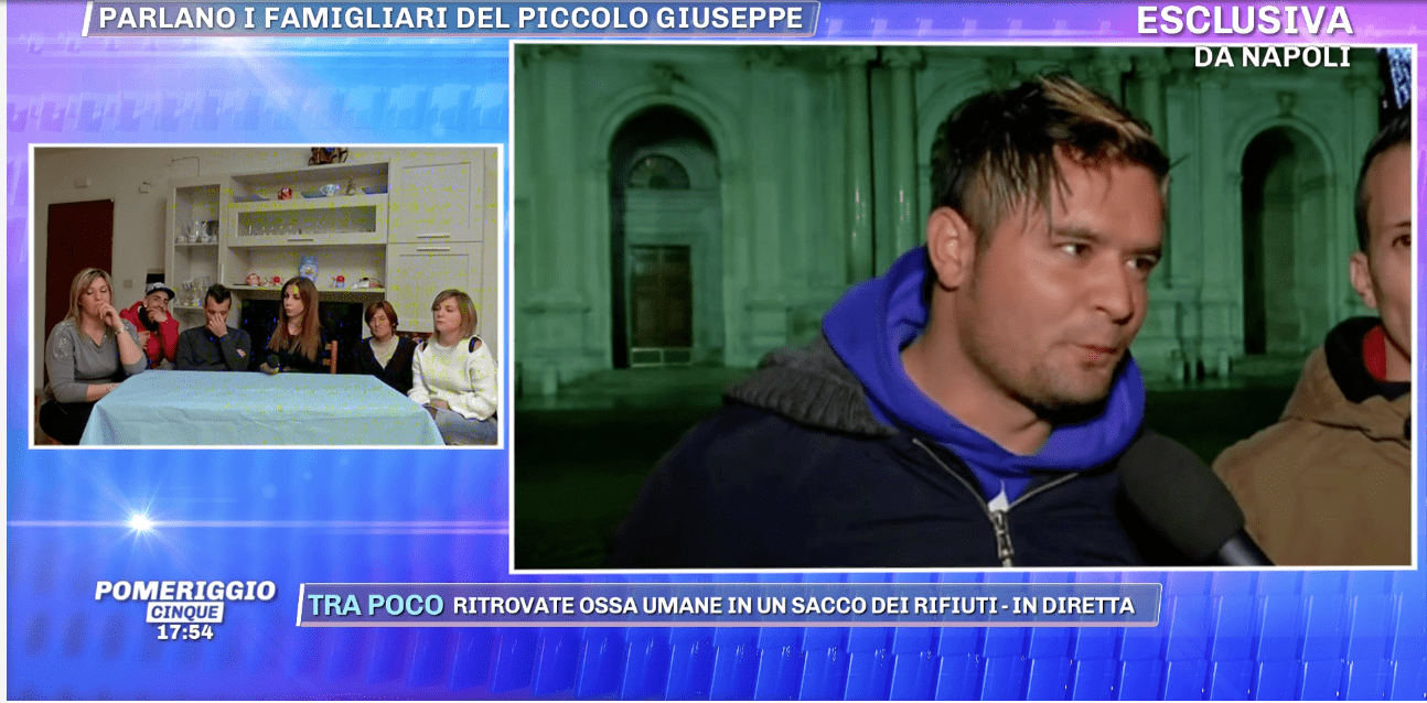 Bimbo ucciso a Cardito, parla il padre:
