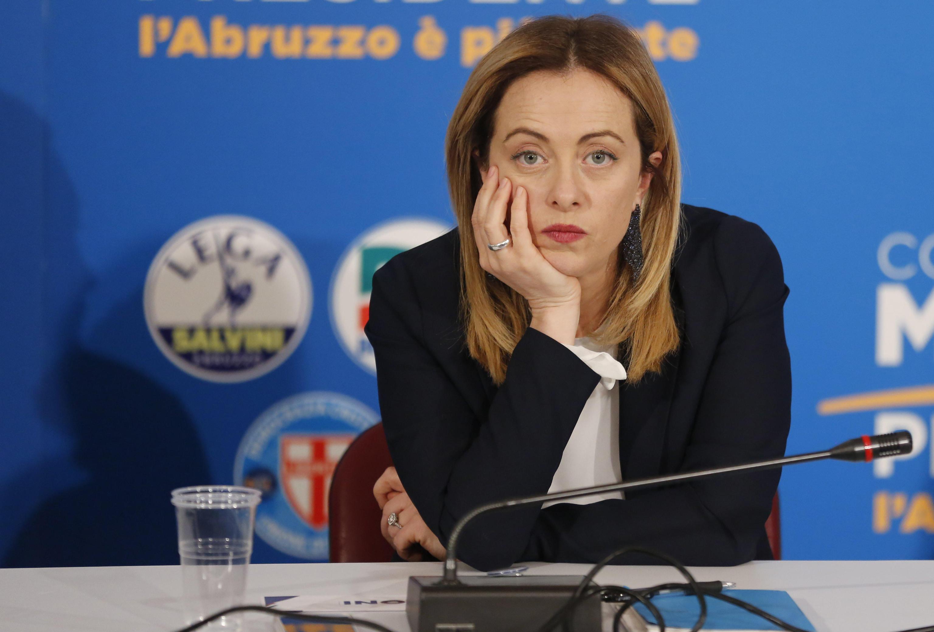 Giorgia Meloni bestemmia in diretta TV?