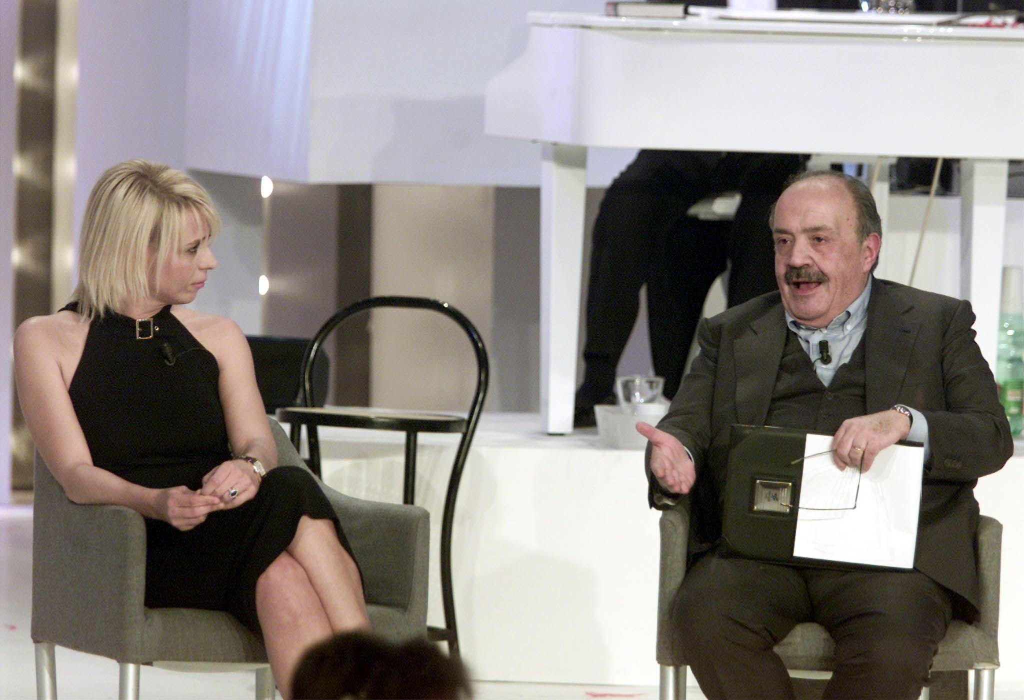 Maurizio Costanzo su Maria De Filippi: 'Non abbiamo mai litigato in 25 anni di matrimonio'