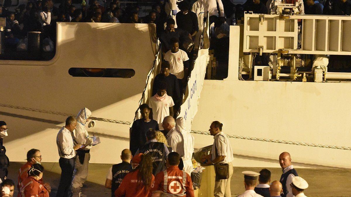 Nave Diciotti: 41 migranti chiedono un risarcimento all'Italia