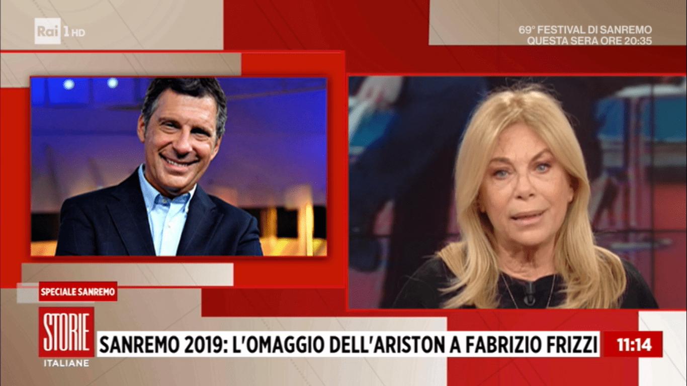 Rita Dalla Chiesa sul ricordo di Fabrizio Frizzi a Sanremo: 'Avrebbe meritato supporto in vita'