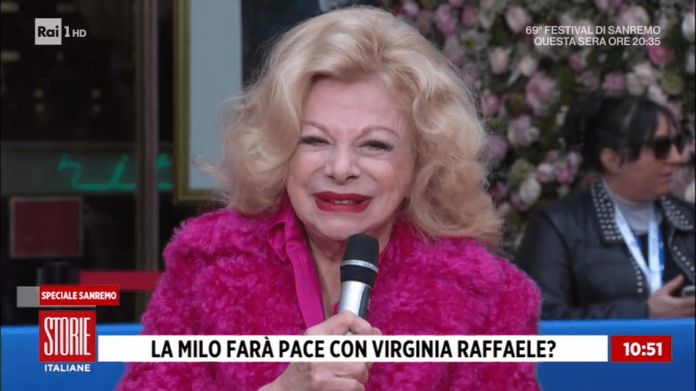 Sandra Milo su Virginia Raffaele: 'Potrei darle consigli di stile'